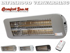 ComfortSun-24 RCT 1400W WhiteGlare titanium Timer