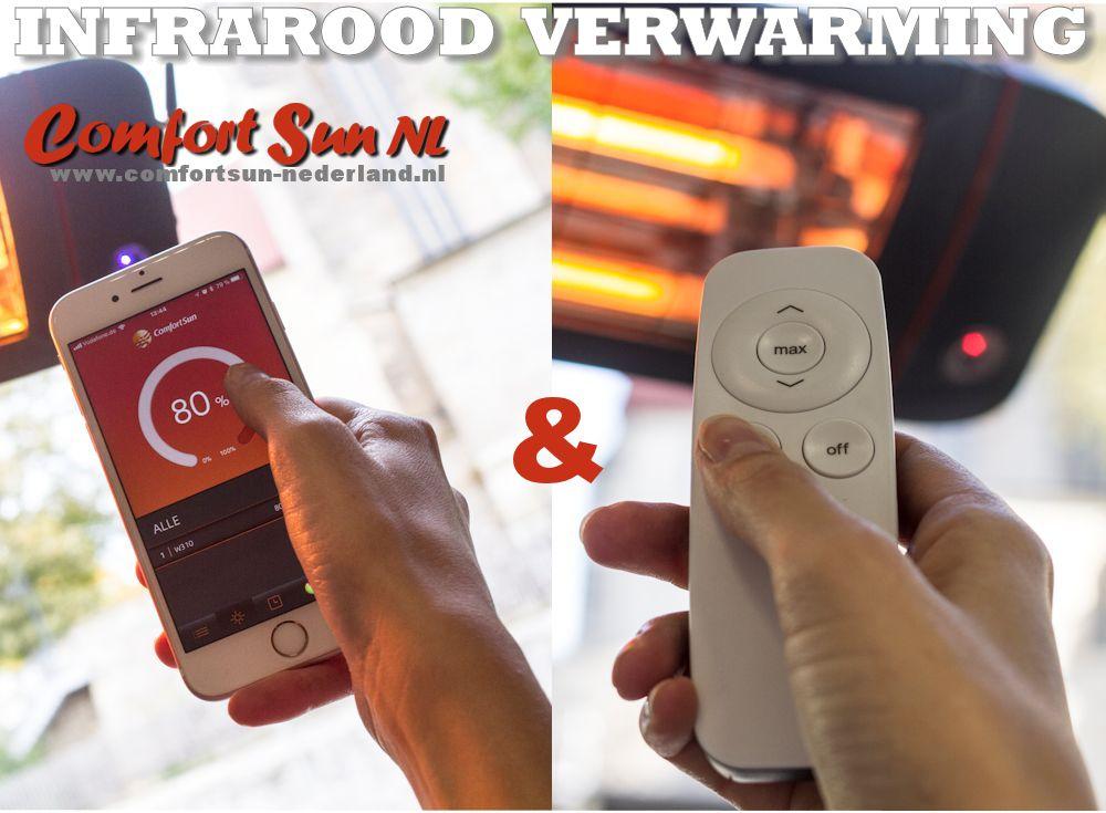 Infrarood Verwarming Garage : Comfortsun 25 bt 2800w whiteglare wit comfortsun online.nl