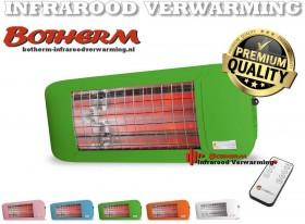 ComfortSun-24 RCT  750W babystraler groen