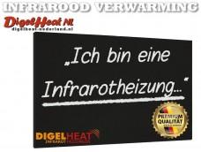 DigelHeat Bord  750W 90x70cm ZWART